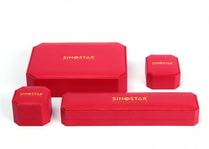 High Glossy Plastic Jewelry Box Case Custom Logo Environmentally Friendly For Gift Packaging